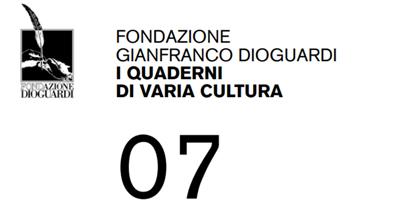 Logo fondazione Gianfranco Dioguardi i quaderni di varia cultura